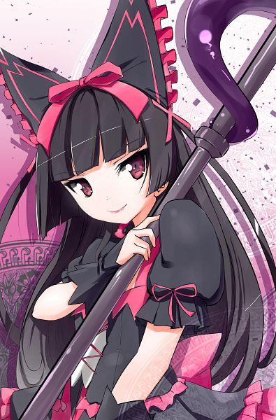 Tags: Anime, Pixiv Id 2981426, Gate: Jieitai Kanochi nite Kaku Tatakeri, Rory Mercury, Mobile Wallpaper