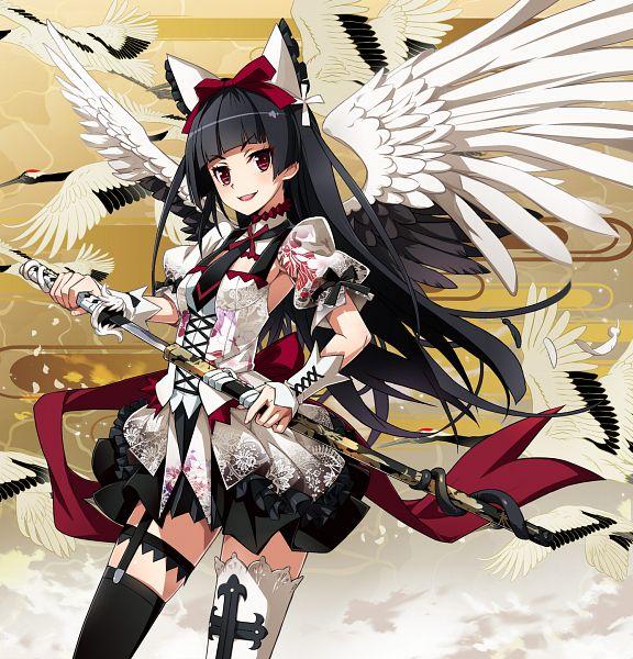 Tags: Anime, Nyoronyoro, Gate: Jieitai Kanochi nite Kaku Tatakeri, Rory Mercury