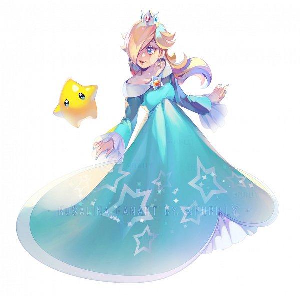 Tags: Anime, Super Mario Galaxy, Super Mario Bros., Rosalina, Artist Request