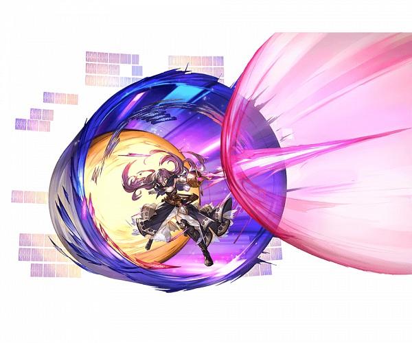 Tags: Anime, Minaba Hideo, Cygames, Granblue Fantasy, Rosamia (Granblue Fantasy), Official Art, Cover Image