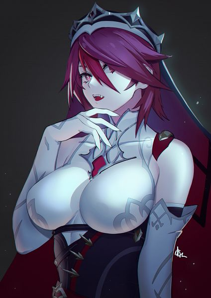 Tags: Anime, Pixiv Id 8216077, Genshin Impact, Rosaria