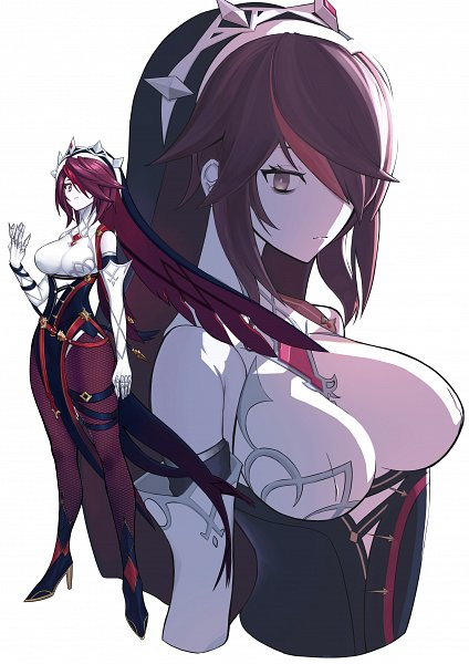 Tags: Anime, Pixiv Id 2401513, Genshin Impact, Rosaria, 2480x3508 Wallpaper, Fanart, Mobile Wallpaper, Fanart From Pixiv, Pixiv, Wallpaper