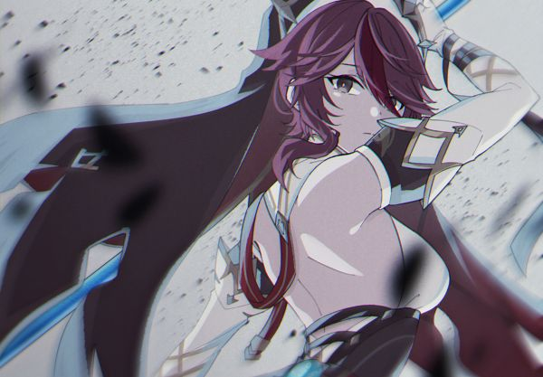 Tags: Anime, Mizu (Pixiv20766), Genshin Impact, Rosaria, Pixiv, Fanart, Fanart From Pixiv