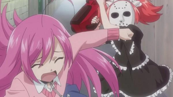 Tags: Anime, Rosario + Vampire, Shuzen Kokoa, Akashiya Moka, Wallpaper, Facebook Cover