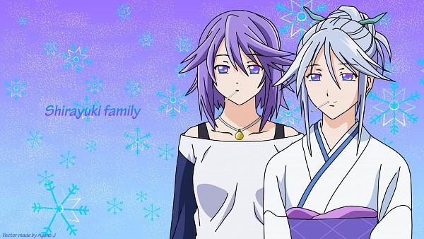 Tags: Anime, Rosario + Vampire, Shirayuki Mizore, Shirayuki Tsurara, Wallpaper, HD Wallpaper, Facebook Cover