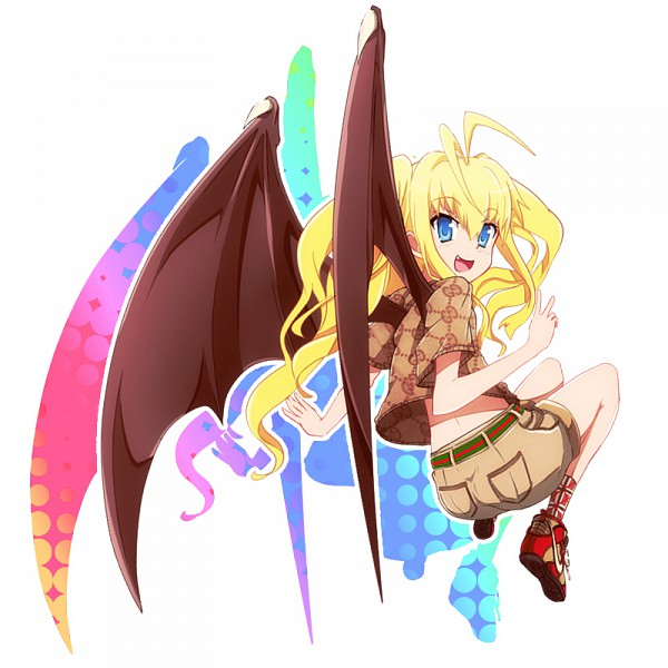 Tags: Anime, Drpow, Dragon Crisis!, Rose (Dragon Crisis), Dragon Wings