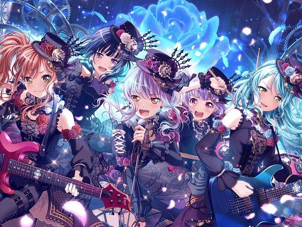 Roselia (BanG Dream!) - BanG Dream! Girls Band Party!