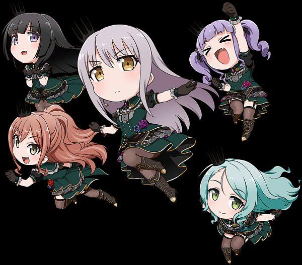 Tags: Anime, SANZIGEN, DMM.Futureworks, BanG Dream! Girls Band Party! PICO, Bang Dream! Girls Band Party! PICO ~OHMORI~, BanG Dream! Girls Band Party!, Hikawa Sayo, Imai Lisa, Shirokane Rinko, Minato Yukina, Udagawa Ako, Key Visual, Official Art