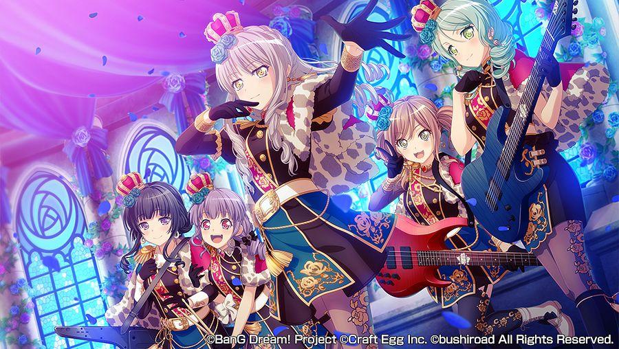 Roselia (BanG Dream!) - BanG Dream! Girls Band Party ...