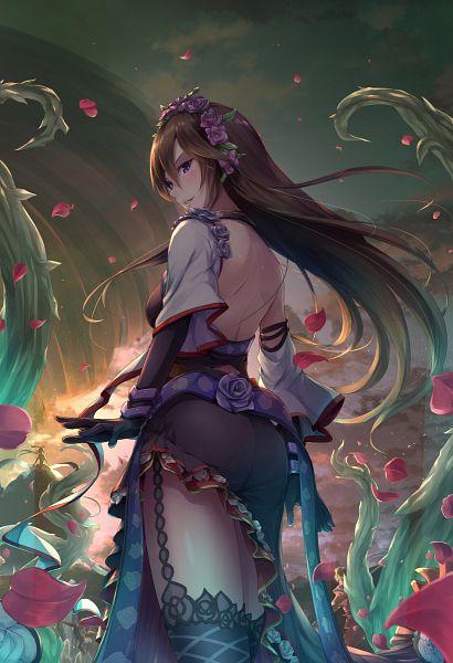 Tags: Anime, Sakusaku, Granblue Fantasy, Rosetta (Granblue Fantasy), Mobile Wallpaper