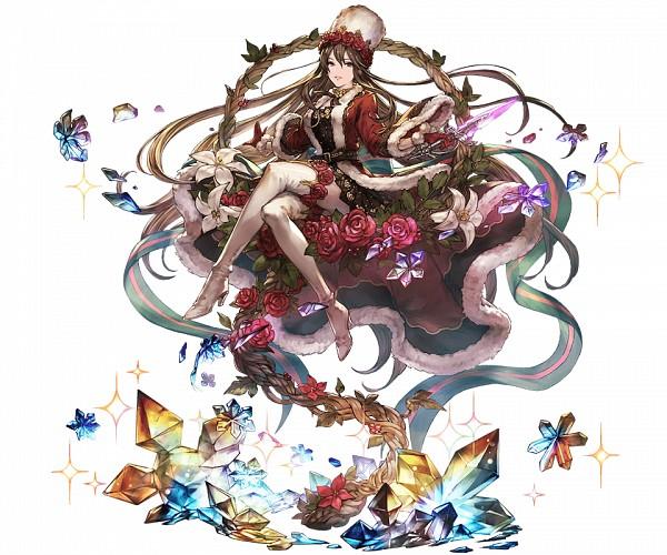 Tags: Anime, Minaba Hideo, Cygames, Granblue Fantasy, Rosetta (Granblue Fantasy), Cover Image, Official Art