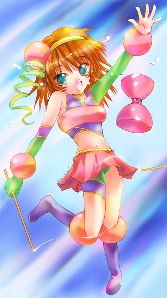 Tags: Anime, Nyanmilla, Kaleido Star, Rosetta Passel, Diabolo Show