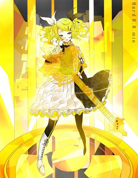 Tags: Anime, Gmanee, VOCALOID, Kagamine Rin, Asymmetrical Clothing, Roshin Yuukai, Meltdown