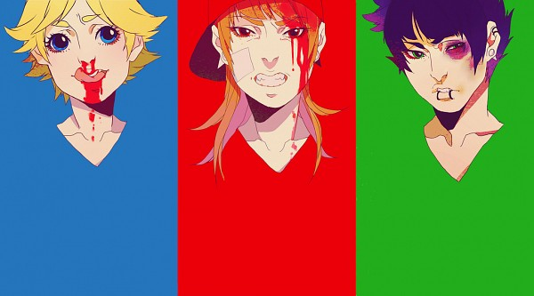 Tags: Anime, Mookie, Power Puff Girls, Boomer (PPG), Brick (PPG), Butch (PPG), Bruise, Fanart, Facebook Cover, Rowdy Ruff Boys