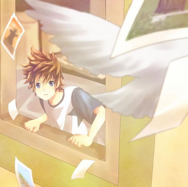 Tags: Anime, Ban (Pixiv 49570), Kingdom Hearts II, Kingdom Hearts 358/2 Days, Roxas, Organization XIII