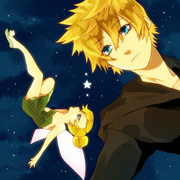Tags: Anime, Pixiv Id 181596, SQUARE ENIX, Peter Pan, Kingdom Hearts II, Kingdom Hearts 358/2 Days, Roxas, Tinkerbell (Peter Pan), Pixiv, Fanart From Pixiv, Fanart, Disney, Organization XIII