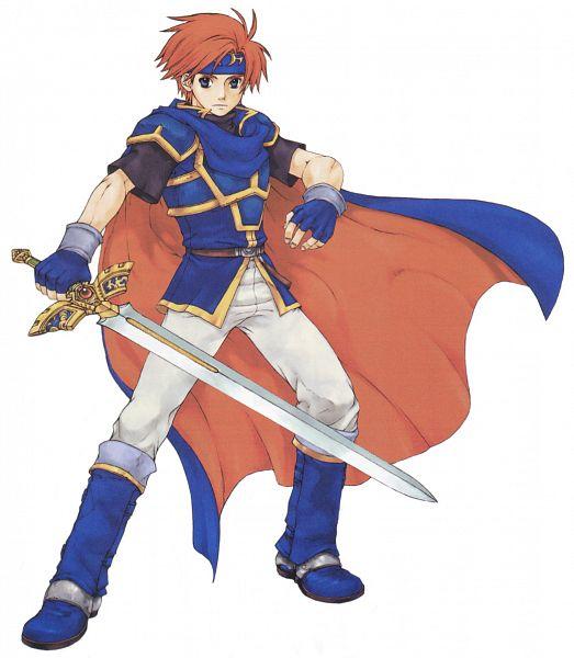 Tags: Anime, Kaneda Eiji, Fire Emblem: Fuuin no Tsurugi, Roy (Fire Emblem), Official Art, Cover Image
