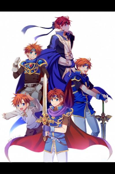 Tags: Anime, Pixiv Id 1308260, Fire Emblem: Fuuin no Tsurugi, Roy (Fire Emblem), Mobile Wallpaper, Pixiv, Fanart, Fanart From Pixiv