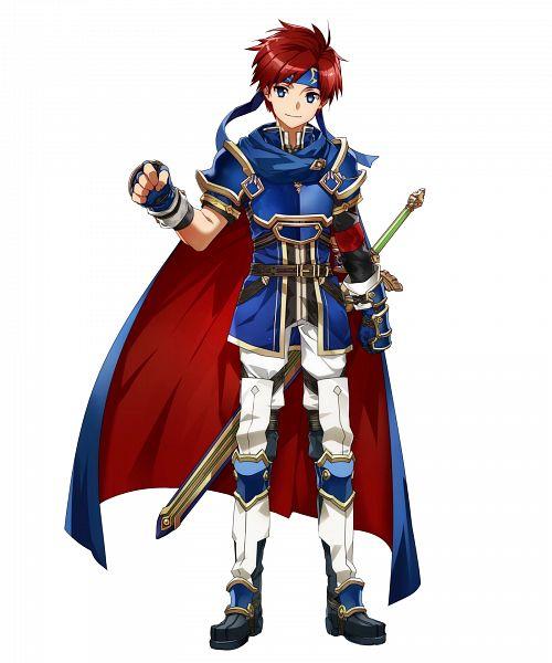 Tags: Anime, BUNBUN, Intelligent Systems, Fire Emblem Heroes, Roy (Fire Emblem), PNG Conversion, Official Art, Cover Image