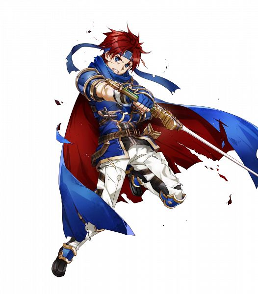 Tags: Anime, BUNBUN, Intelligent Systems, Fire Emblem Heroes, Roy (Fire Emblem), Official Art