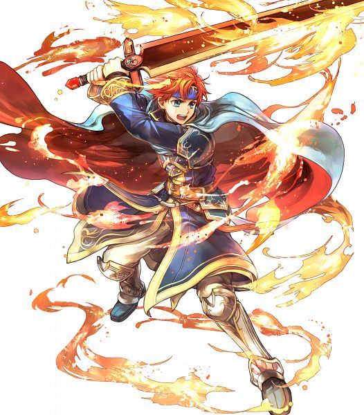 Tags: Anime, Wada Sachiko, Intelligent Systems, Fire Emblem Heroes, Roy (Fire Emblem), Sealed Sword, Official Art
