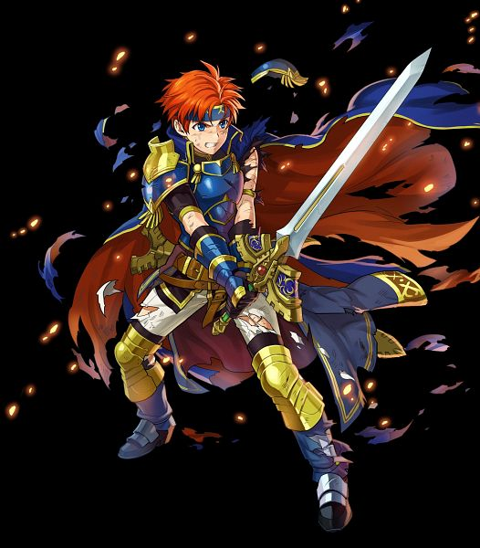 Tags: Anime, Meka, Intelligent Systems, Fire Emblem Heroes, Roy (Fire Emblem), Official Art