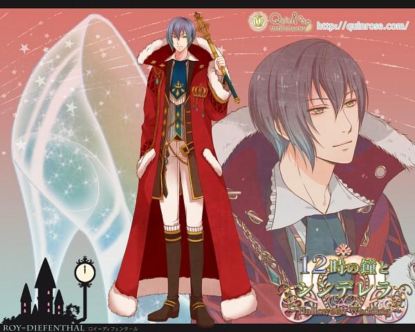 Tags: Anime, QuinRose, 12 Ji no Kane no Cinderella ~Halloween Wedding~, Roy Diefenthal, Scepter, Official Wallpaper, Wallpaper, Official Art