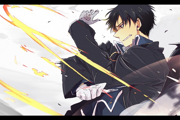 Tags: Anime, Chitose Yuki, Fullmetal Alchemist, Roy Mustang, Pixiv, Fanart, Fanart From Pixiv