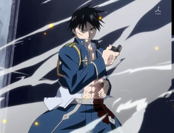 Tags: Anime, Fullmetal Alchemist, Fullmetal Alchemist Brotherhood, Roy Mustang, Screenshot