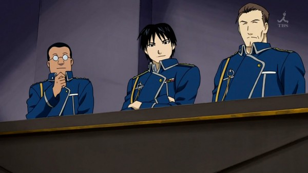Tags: Anime, Fullmetal Alchemist, Fullmetal Alchemist Brotherhood, Roy Mustang, Screenshot, Wallpaper