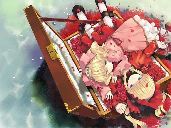 Tags: Anime, Rozen Maiden, Shinku, Hina Ichigo, Wallpaper