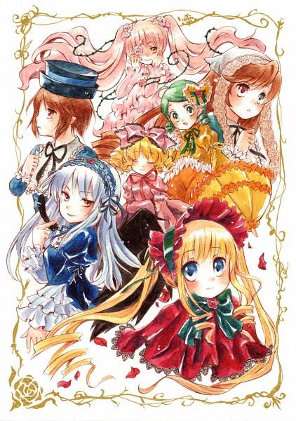 Tags: Anime, Rozen Maiden, Kirakishou, Suiseiseki, Shinku, Hina Ichigo, Souseiseki, Suigintou