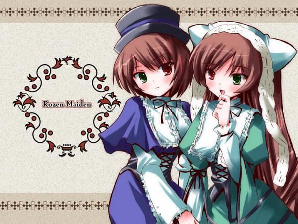 Tags: Anime, Rozen Maiden, Suiseiseki, Souseiseki, Fanart