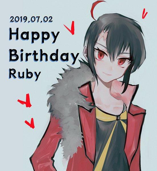 Tags: Anime, Kiryak, Pokémon SPECIAL, Pokémon, Ruby (Pokémon SPECIAL), Red Coat, Fanart, Pixiv, Fanart From Pixiv