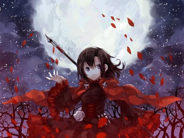 Tags: Anime, Pixiv Id 6192606, RWBY, Ruby Rose, Pleine Lune, Fanart From DeviantART, Fanart From Pixiv, deviantART, Pixiv, Fanart