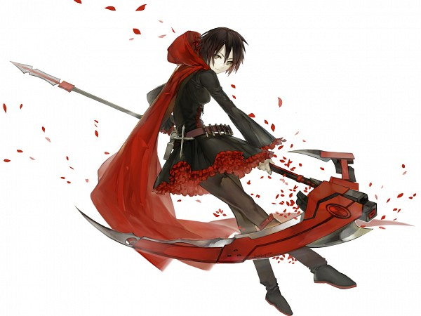Tags: Anime, Memipong, RWBY, Ruby Rose, Red Hoodie, deviantART, Fanart