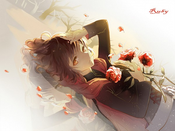 Tags: Anime, Pixiv Id 6246190, RWBY, Ruby Rose, Hand on Forehead, Fanart From Pixiv, Pixiv, Fanart