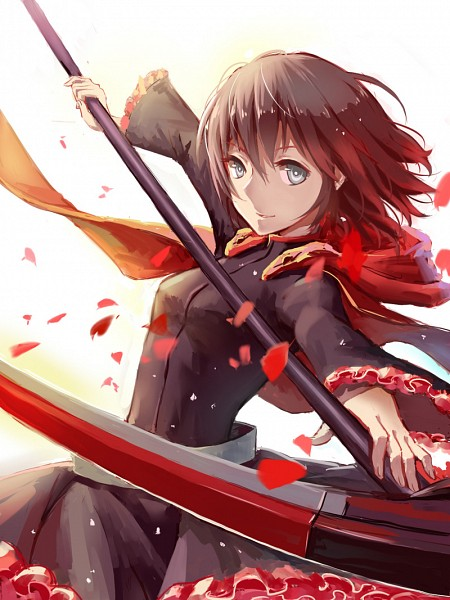 Tags: Anime, Pixiv Id 6246190, RWBY, Ruby Rose, Pixiv, Fanart, Fanart From Pixiv