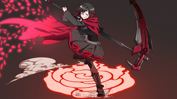 Tags: Anime, Pixiv Id 28559, RWBY, Ruby Rose, HD Wallpaper, Wallpaper, Facebook Cover