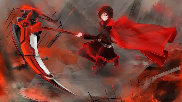 Tags: Anime, Pixiv Id 6407650, RWBY, Ruby Rose, Facebook Cover, Pixiv, Wallpaper, Fanart, HD Wallpaper, Fanart From Pixiv