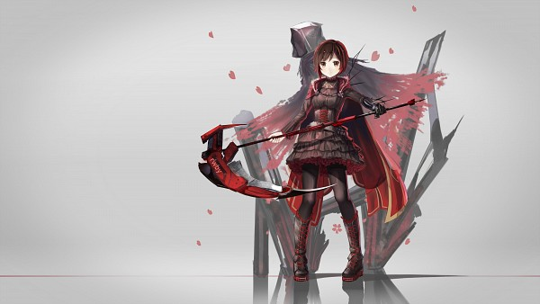 Tags: Anime, Pixiv Id 6239377, RWBY, Grim Reaper, Ruby Rose, Laced Up, Wallpaper, HD Wallpaper, Fanart From Pixiv, Fanart, Facebook Cover, Pixiv