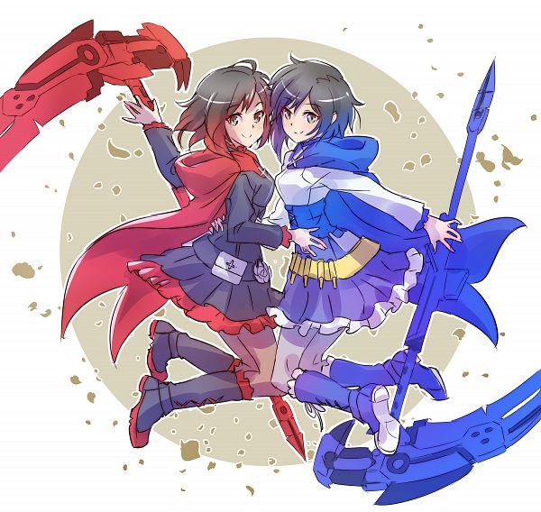 Tags: Anime, Iesupa, RWBY, Blazblue: Cross Tag Battle, Ruby Rose, Fanart, Fanart From Pixiv, Pixiv