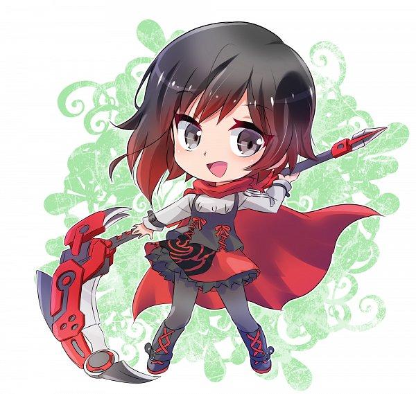 Tags: Anime, Iesupa, RWBY, Sumaga, Ruby Rose, Capella (Sumaga)