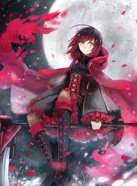 Tags: Anime, Pixiv Id 7623355, RWBY, Ruby Rose, Pixiv, Fanart, Fanart From Pixiv