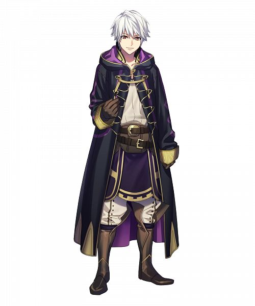 Tags: Anime, Fujiwara Ryo, Intelligent Systems, Fire Emblem Heroes, Rufure (Male) (Fire Emblem), PNG Conversion, Official Art, Cover Image
