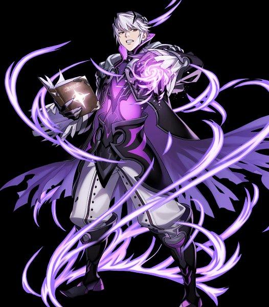 Tags: Anime, Komo (Sleepy), Intelligent Systems, Fire Emblem Heroes, Rufure (Male) (Fire Emblem), Official Art