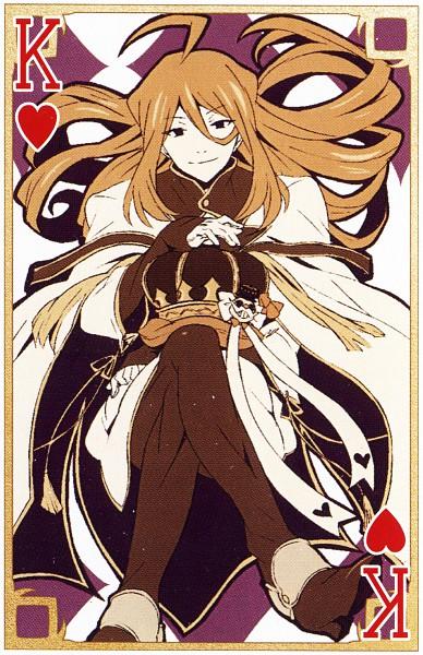 Tags: Anime, SQUARE ENIX, Xebec, Pandora Hearts, Rufus Barma, Mobile Wallpaper, Card (Source), Scan, Official Art