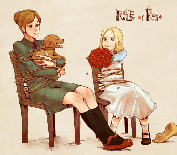 Tags: Anime, TKG, Rule of Rose, Brown (Rule of Rose), Jennifer, Wendy (Rule of Rose), Pixiv, Fanart, Fanart From Pixiv