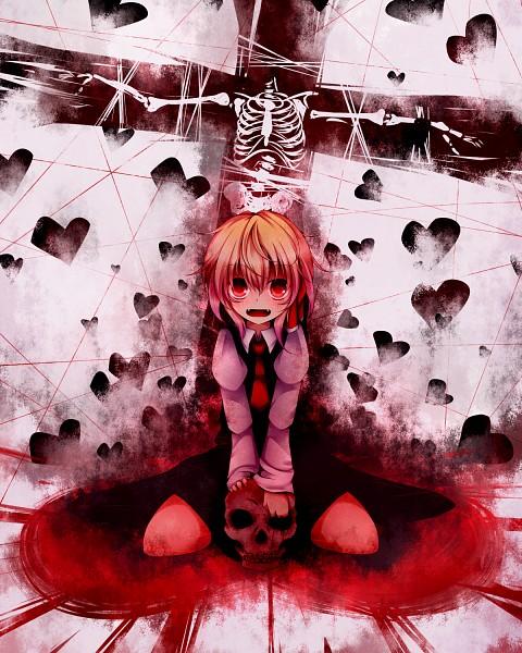 Tags: Anime, Kuroyume, Touhou, Rumia, PNG Conversion, Pixiv, Fanart From Pixiv, Fanart