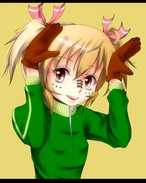 Tags: Anime, Nekotama Shun, Touhou, Rumia, Bunny Ear Gesture, Matryoshka, Fanart
